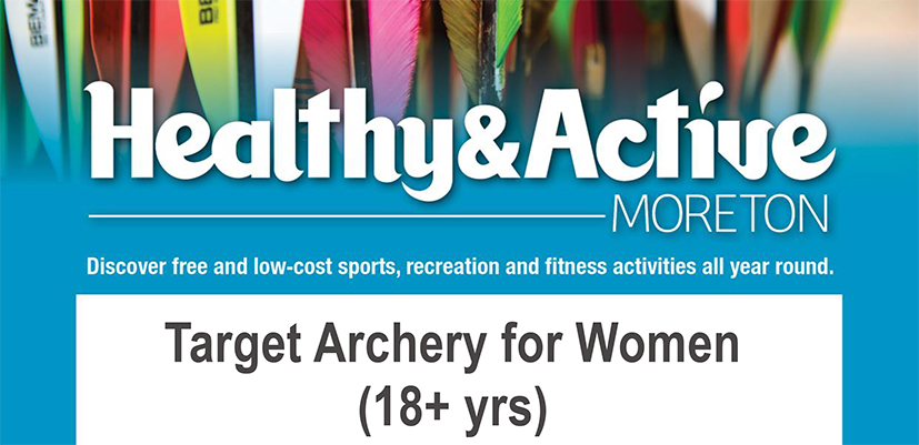 Healthy & Active Moreton Target Archery for Women